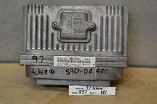 1997 Oldsmobile Achieva Engine Control Unit ECU 16217058 Module 41 11B7