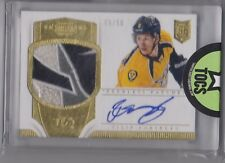 Filip Forsberg Panini Dominion Hockey RC Class Patch Auto #09/50 (Jersey Number)