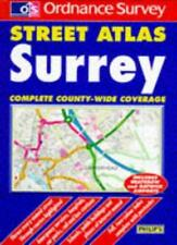 Ordnance Survey Surrey Street Atlas (Ordnance Survey/ Philip's Street Atlases),