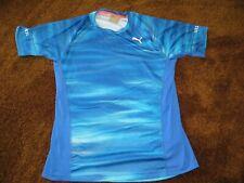Puma, men's size small, blue print t-shirt