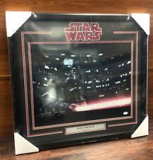 DAVE PROWSE Signed Autographed & Framed Darth Vader STAR WARS 16x20 Photo JSA