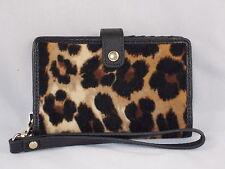 Juicy Couture Leopard Velour Tech Phone Wristlet Wallet YSRU0103 $60