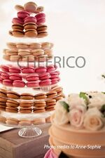 10 Tier Macaron Tower Macaron Stand fo r230 Macarons in USA by Cheerico Supplies