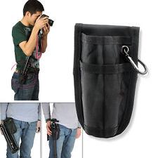 DSLR Fixed Portable Waist Bag Pouch Case for Camera Monopod Tripod Canon Nikon