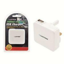 Lloytron a1581 USB CARICABATTERIE UNIVERSALE TENSIONE output 1000mA iPhone iPod Nuovo