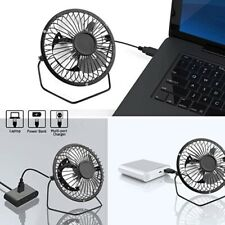 Mini USB Fan Portable cooling Desk Computer Office Laptop Accessory with stand
