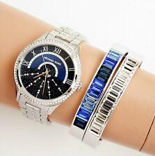 Original Michael Kors Watch Women's Watch mk3720 Lauryn Silver New