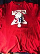 Dr J Philadelphia 76ers #6 XL TShirt