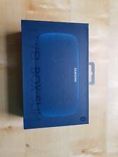 SAMSUNG originale Scatola di livello Slim Wireless Altoparlante Bluetooth portatile-blu £ 100