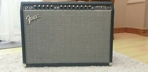 Fender Champion 100 Guitar Amp; Power Supply + Foot Pedal (Excellent Condition)