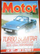 Motor 28/6/86 Fiat Panda 750L