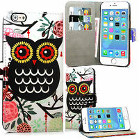 Wallet Leather Case Floral Flower Cover Flip For Samsung Galaxy Various Models
