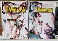 Convergence Hawkman 1 2 Complete Set Series Run Lot 1-2 VF/NM