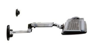 Ergotron 45-246-026 LX Wall Mount Keyboard Arm - 45-246-026  Monitor