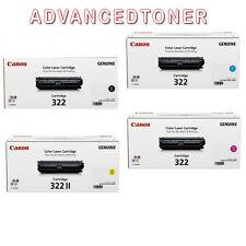 Genuine Canon Cart-322 Set of 4 Toner Cartridges for LBP-9100C,LBP-9500,LBP-9600
