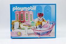 PLAYMOBIL Servante, salle de bains de princesse - 4252 100% complet 4250 château