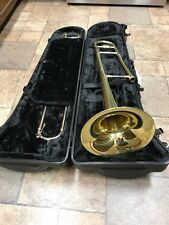 NEW BLESSING BTB-1280  TROMBONE WITH MOUTHPIECE, RUGGED POLY CASE