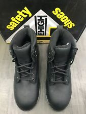 LeHigh LEHI009 SAFETY SHOES UNISEX COMPOSITE TOE WATERPROOF BOOT Black, 9.5 D/M