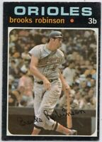 1971 Topps #300 Brooks Robinson VG-VGEX Marked Baltimore Orioles FREE SHIPPING