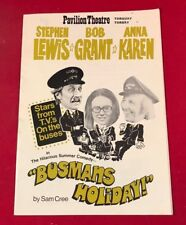 PAVILLION THEATRE PROGRAMME ON THE BUSES BUSMAN's HOLIDAY FULLY SIGNED CAST B