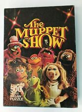 The Muppet Show Vintage 1977 - 500 Piece Jigsaw Puzzle Excellent Condition
