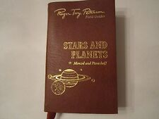 1984 STARS AND PLANETS BY ROGER TORY PETERSON - LEATHER BOUND - TUB M