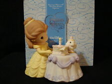 zu Precious Moments-Disney-Belle, Chip, & Mrs. Potts-Beauty And The Beast