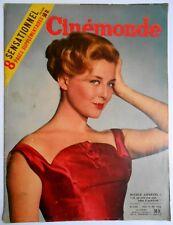 ►CINE MONDE 1138/1956-COURCEL-FERNANDEL-MARTINE CAROL-ORSON WELLES-MAURICE RONET