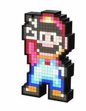 PDP Pixel Pals Nintendo Super Mario World Mario Collectible Lighted Figure 87...