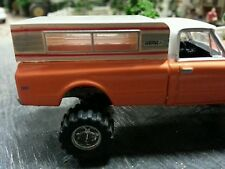 1/64 pickup truck camper shell topper cover  diorama layout 4x4 farm ford