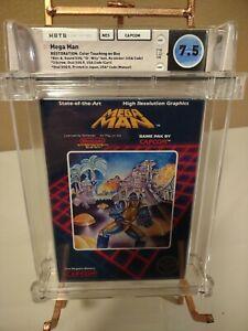 MEGA MAN 1 💎 WATA Graded 7.5 CIB💎 Complete Nintendo NES