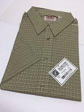 Vintage Western Short Sleeve Button Up Shirt Casual Cowboy Duke Haband