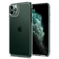 iPhone 11, 11 Pro, 11 Pro Max Case Spigen® [Quartz Hybrid] Clear Glass Cover