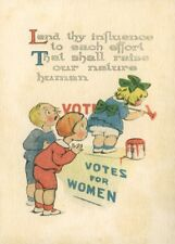"""Vintage Suffragette Propaganda """"LEND THY INFLUENCE . . . """" 250gsm A3 Poster"""