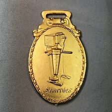 SHARPLES CREAM SEPARATOR Dairy Advertising WATCH FOB Original Antique