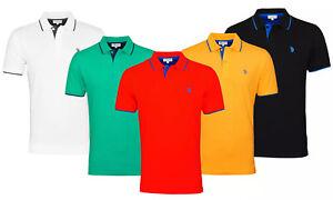 U.S. Polo Assn Herren Poloshirt Baumwolle Klassische Shirt