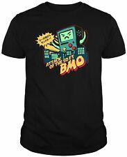 Camiseta Hora de Aventuras Jake Finn BMO DAh004 SIL