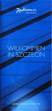 Flyer: Hotel Radisson BLU Szczecin (Stettin/Polen)