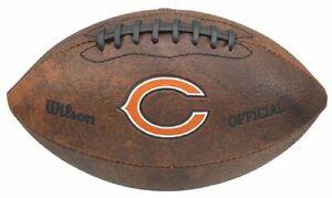 "Wilson NFL Chicago Bears 9"" Color Logo Composite Leather Mini Football"