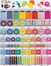Piatti Bicchieri Posate Tovaglia monouso plastica vari colori set completo