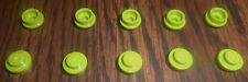 LEGO 1x1 Round Tiles Lime Green---Lot of 10