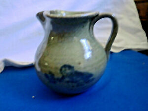 1985 JUGTOWN WARE NORTH CAROLINA POTTERY SMALL PITCHER