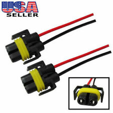 H11 880 Female Adapter Wiring Harness Sockets Wire For Headlights or Fog Lights