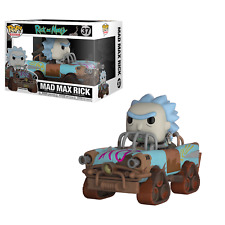 Funko Pop Vinile Rides Rick & Morty Mad Max Statuetta modello da Collezione