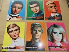 GERRY ANDERSON THUNDERBIRDS 6 card promo set ITC limited 150 cards UNSTOPPABLE