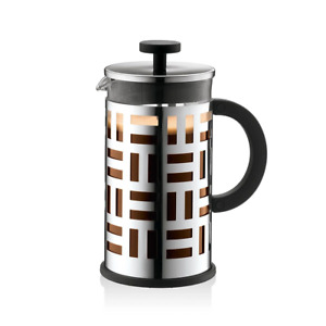 Bodum - Eileen French Press Coffee Maker - 8 Cup - Stainless Steel - Shiny
