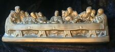 Vintage The Last Supper religious Plaster Wall Hanging Plaque Jesus home decor