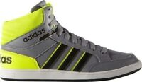 Adidas Hoops Mid Scarpa Sneakers Bambino Col Grigio tg varie