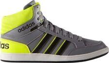 Adidas Hoops Mid Scarpa Sneakers Bambino Col Grigio tg 38,5