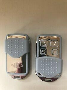 Neco mark 1 Roller Shutter Garage Door Remote Control fob x2 - Genuine